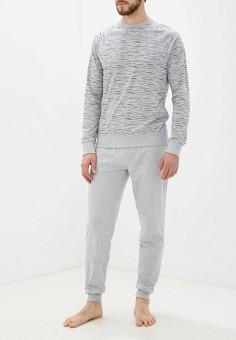 Пижама, OVS, цвет: серый. Артикул: OV001EMGJSO0. Одежда / Домашняя одежда