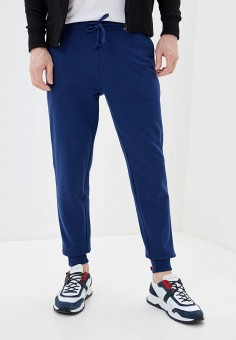 Брюки спортивные, OVS, цвет: синий. Артикул: OV001EMHUBB4. Одежда / Брюки / Спортивные брюки