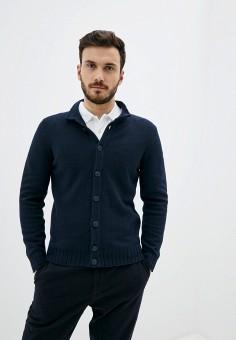 Кардиган, OVS, цвет: синий. Артикул: OV001EMHUFS5. Одежда / Джемперы, свитеры и кардиганы / Кардиганы