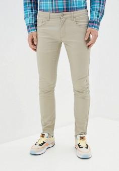 Брюки, OVS, цвет: бежевый. Артикул: OV001EMITNV4. Одежда / Брюки / Повседневные брюки