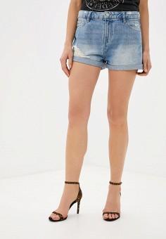 Шорты джинсовые, OVS, цвет: голубой. Артикул: OV001EWGUOL2. Одежда / Шорты