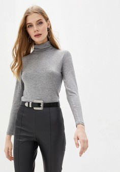 Водолазка, OVS, цвет: серый. Артикул: OV001EWHTLD0. Одежда / Джемперы, свитеры и кардиганы / Водолазки