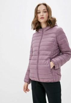 Куртка утепленная, OVS, цвет: фиолетовый. Артикул: OV001EWHTLH5. Одежда / Верхняя одежда / Демисезонные куртки