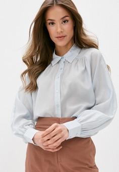 Рубашка, OVS, цвет: голубой. Артикул: OV001EWHTOM7. Одежда / Блузы и рубашки / Рубашки