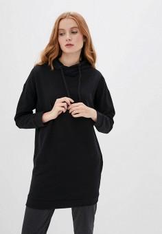 Худи, OVS, цвет: черный. Артикул: OV001EWHTOQ6. Одежда / Толстовки и свитшоты