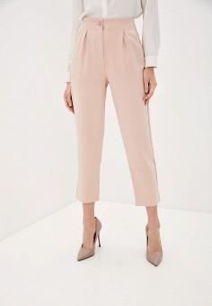 Брюки, OVS, цвет: розовый. Артикул: OV001EWHTOS2. Одежда / Брюки / Классические брюки