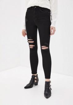 Джинсы, OVS, цвет: черный. Артикул: OV001EWHTOT3. Одежда / Джинсы / Узкие джинсы