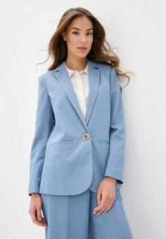 Пиджак, OVS, цвет: голубой. Артикул: OV001EWHTOT6. Одежда / Пиджаки и костюмы