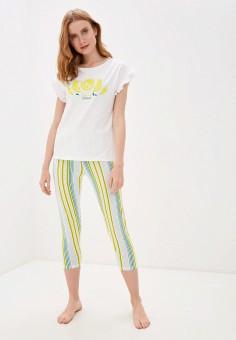 Комплект домашний, OVS, цвет: белый. Артикул: OV001EWIEIS6. Одежда / Домашняя одежда