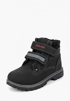 Ботинки, Patrol, цвет: черный. Артикул: PA050ABCHQD1.