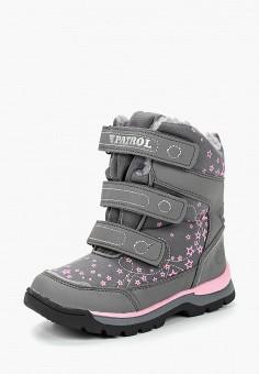 Ботинки, Patrol, цвет: серый. Артикул: PA050AGCHQD6.
