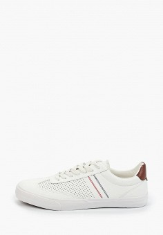 Кеды, Patrol, цвет: белый. Артикул: PA050AMISNS3. Обувь