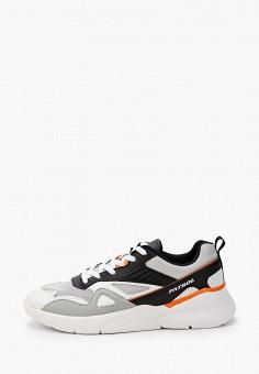 Кроссовки, Patrol, цвет: серый. Артикул: PA050AMISNW3. Обувь