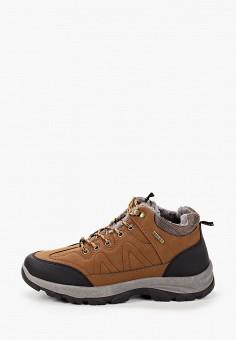 Ботинки, Patrol, цвет: коричневый. Артикул: PA050AMKFUG4. Обувь / Ботинки / Низкие ботинки