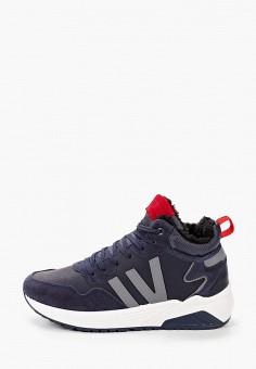 Кроссовки, Patrol, цвет: синий. Артикул: PA050AMKFUG5. Обувь