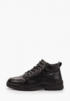 Ботинки, Patrol, цвет: черный. Артикул: PA050AMKFUO4. Обувь / Ботинки