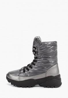 Дутики, Patrol, цвет: серебряный. Артикул: PA050AWGJRB5. Обувь / Сапоги / Дутики