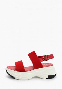 Сандалии, Patrol, цвет: красный. Артикул: PA050AWIOIB2. Обувь / Сандалии