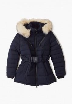 Куртка утепленная, Paragoose, цвет: синий. Артикул: PA068EKGUGK4. Девочкам / Одежда / Верхняя одежда / Куртки и пуховики