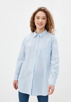 Рубашка, Part Two, цвет: голубой. Артикул: PA079EWHMQW1. Одежда / Блузы и рубашки / Рубашки