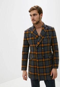 Пальто, Paul Martin's, цвет: синий. Артикул: PA087EMHLZZ5. Одежда / Верхняя одежда / Пальто