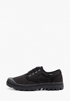 Ботинки, Palladium, цвет: черный. Артикул: PA307AMIKPJ8. Обувь / Ботинки / Низкие ботинки