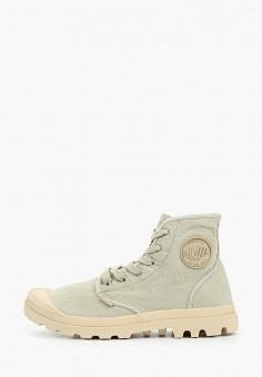 Ботинки, Palladium, цвет: зеленый. Артикул: PA307AMIKPW2. Обувь / Ботинки / Высокие ботинки