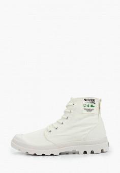Ботинки, Palladium, цвет: белый. Артикул: PA307AWIKPW4. Обувь / Ботинки / Высокие ботинки