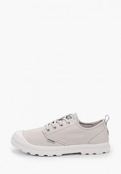 Ботинки, Palladium, цвет: серый. Артикул: PA307AWIKPW8. Обувь / Ботинки / Низкие ботинки