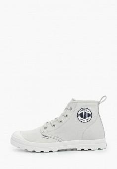 Ботинки, Palladium, цвет: серый. Артикул: PA307AWIKPX2. Обувь / Ботинки / Высокие ботинки