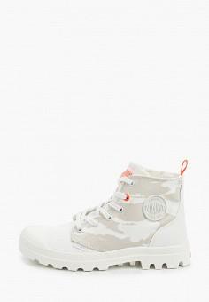 Ботинки, Palladium, цвет: белый. Артикул: PA307AWIKPY5. Обувь / Ботинки