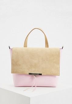 Сумка, Patrizia Pepe, цвет: розовый. Артикул: PA748BWHZSE4.