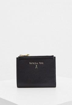 Кошелек, Patrizia Pepe, цвет: черный. Артикул: PA748BWKMPB5.