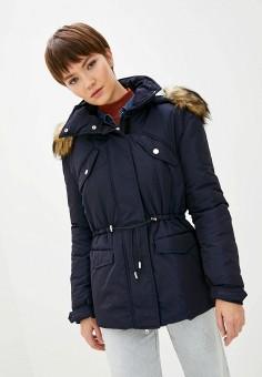 Куртка утепленная, Patrizia Pepe, цвет: синий. Артикул: PA748EWGQIU6.