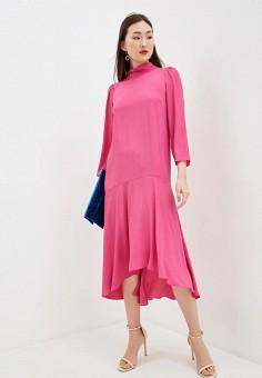 Платье, Patrizia Pepe, цвет: розовый. Артикул: PA748EWHZPU9.