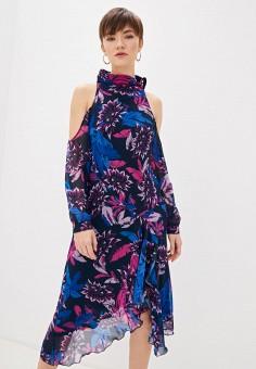 Платье, Patrizia Pepe, цвет: фиолетовый. Артикул: PA748EWHZPW3.