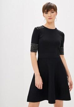 Платье, Patrizia Pepe, цвет: черный. Артикул: PA748EWHZPW9.