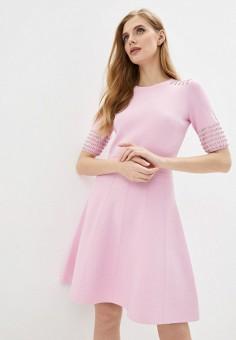 Платье, Patrizia Pepe, цвет: розовый. Артикул: PA748EWHZPX0.