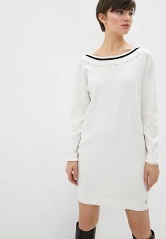 Платье, Patrizia Pepe, цвет: белый. Артикул: PA748EWHZPX9.