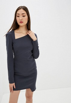 Платье, Patrizia Pepe, цвет: серый. Артикул: PA748EWHZPY1.