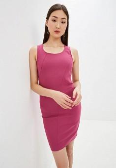 Платье, Patrizia Pepe, цвет: розовый. Артикул: PA748EWHZPY5.