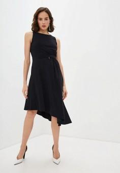 Платье, Patrizia Pepe, цвет: черный. Артикул: PA748EWILLM8.