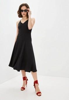Платье, Patrizia Pepe, цвет: черный. Артикул: PA748EWILLQ7.