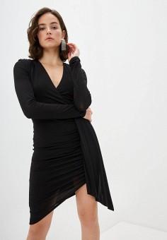 Платье, Patrizia Pepe, цвет: черный. Артикул: PA748EWILLR1.