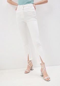 Джинсы, Patrizia Pepe, цвет: белый. Артикул: PA748EWILLZ7. Одежда / Джинсы / Узкие джинсы