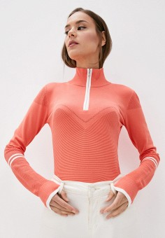 Водолазка, Patrizia Pepe, цвет: коралловый. Артикул: PA748EWJLMI3. Одежда / Джемперы, свитеры и кардиганы / Водолазки