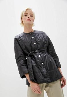 Куртка утепленная, Patrizia Pepe, цвет: черный. Артикул: PA748EWKMPG6.