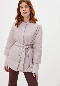 Куртка утепленная, Patrizia Pepe, цвет: розовый. Артикул: PA748EWKMPG7.