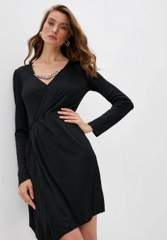 Платье, Patrizia Pepe, цвет: черный. Артикул: PA748EWKMPU8.