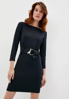 Платье, Patrizia Pepe, цвет: черный. Артикул: PA748EWKMPV0. Premium